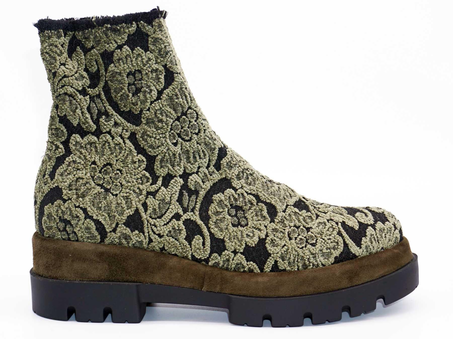 Le Babe Boots aus Strick-Stretch