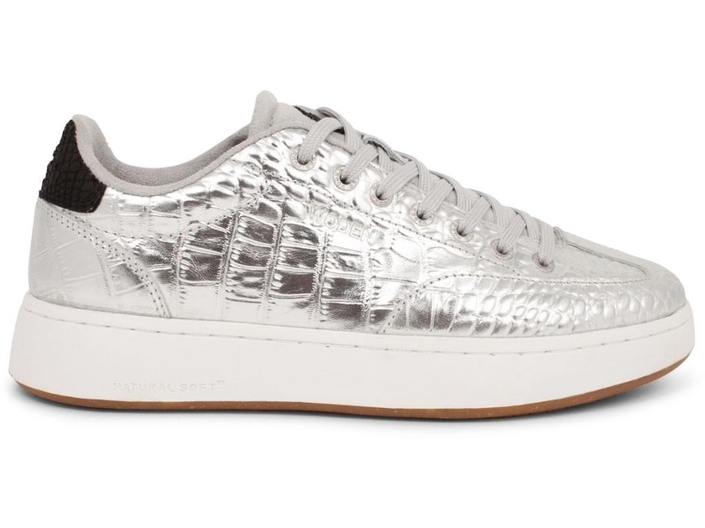Woden Sneaker Pernille Croco Shiny