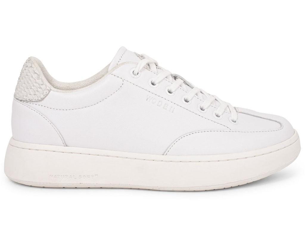 Woden Sneaker Pernille Leather Bright White