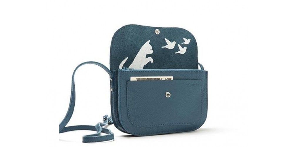 Keecie Schultertasche Cat Chase