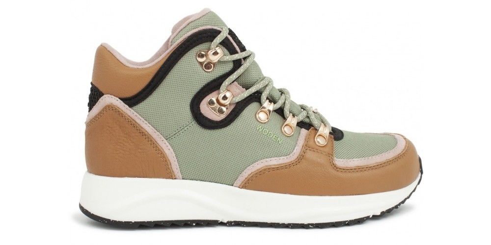 Woden High-Top-Sneaker Mille Fifty